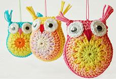 Little Crochet Owls