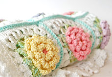Victorian Flower Blanket