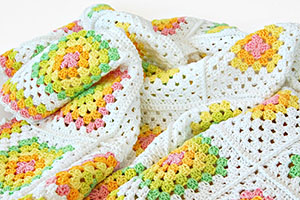His Majesty – Classic Granny Square Blanket