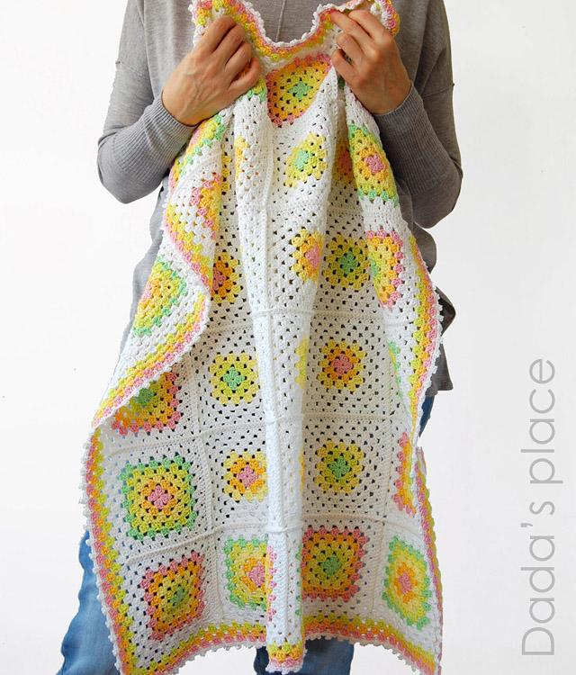 Classic Granny Square Blanket