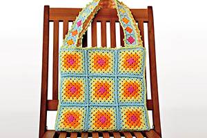Classic Granny Square Bag