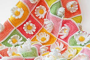 Daisy Baby Blanket Pattern