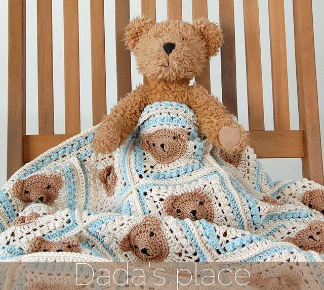 crochet blanket pattern/crochet bear - YouTube | 574x640
