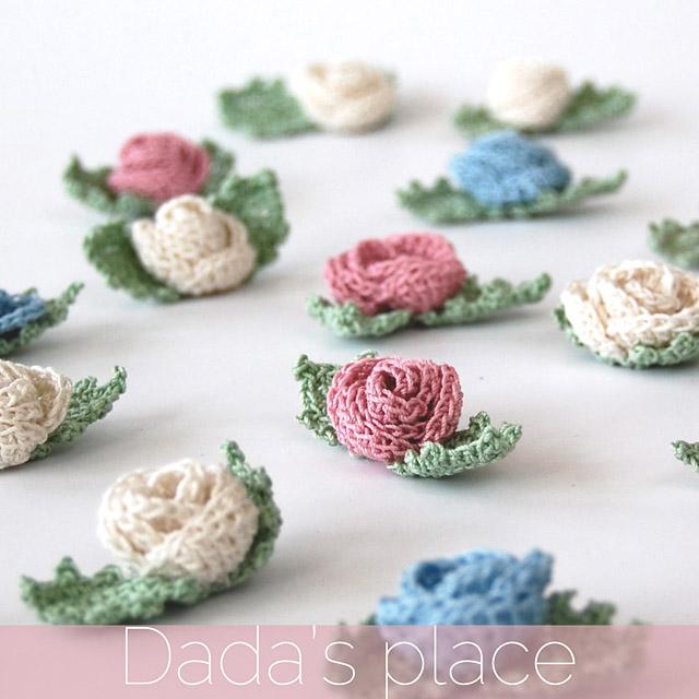 Crocheted Wedding Flowers