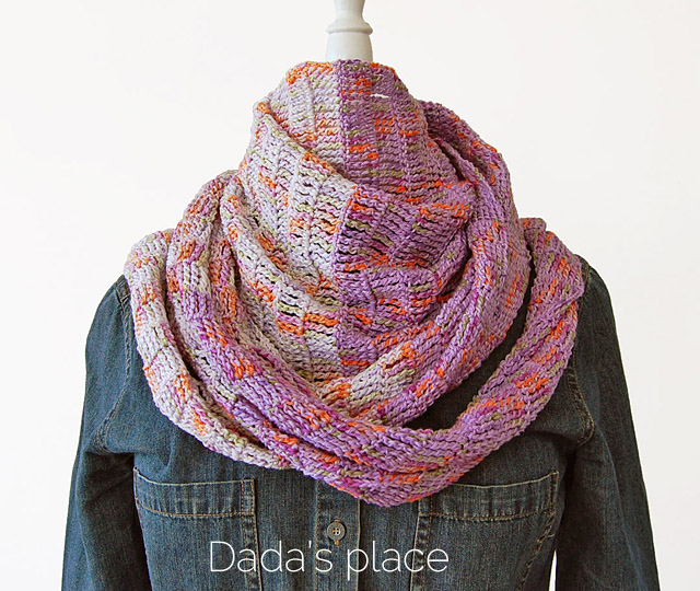 Free crochet pattern - Enjoy the silence shawl