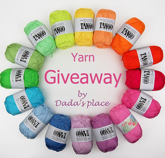 Tango yarn giveaway