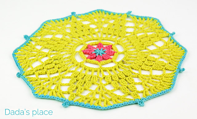 free crochet doily pattern for beginners