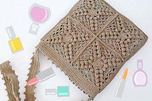 New Boho-chic Crochet Bag