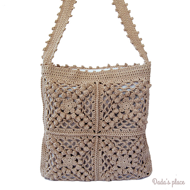 Boho-chic Crochet Bag