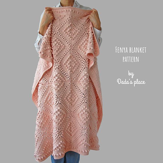 Fenya Vintage crochet blanket pattern