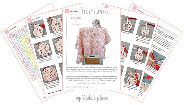 Fenya vintage crochet blanket tutorial