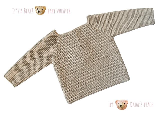crochet baby pullover pattern