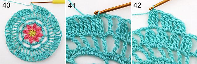 modern doily free crochet pattern