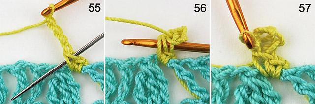 Free crochet pattern - follow me doily