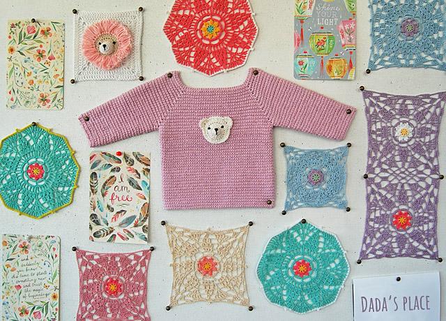 crochet vision board