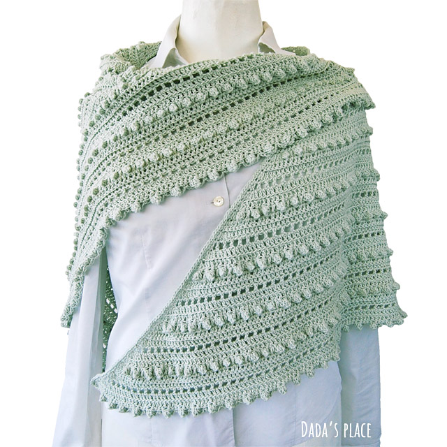 crochet shawl pattern by dada's place