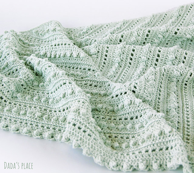 simple crochet shawl pattern by dadas place