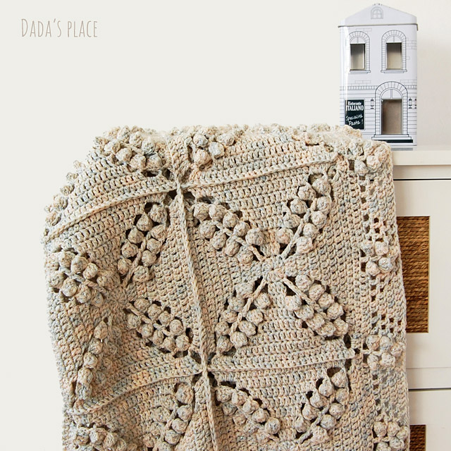 Free crochet blanket pattern by dadas place