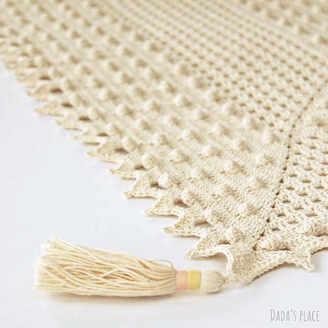 Summer crochet shawl pattern Awana shawl