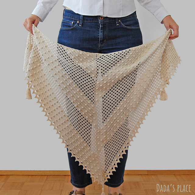 Awana crochet shawl pattern
