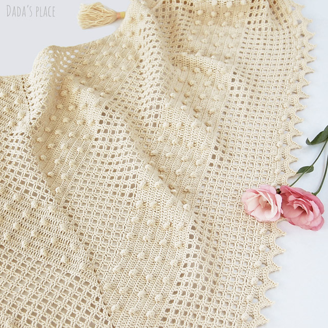 Awana shawl pattern by Dadas place
