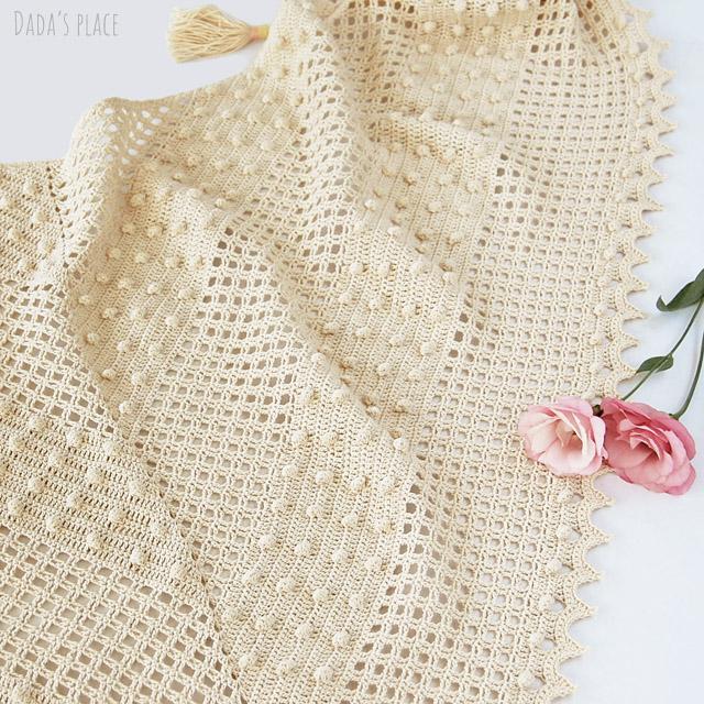 Awana shawl pattern by Dadas place