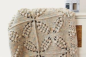 Free Crochet Pattern: Norwegian Forest Blanket
