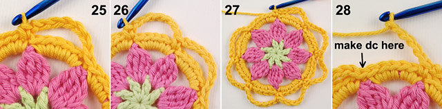 Free crochet baby blanket tutorial by dadas place 7