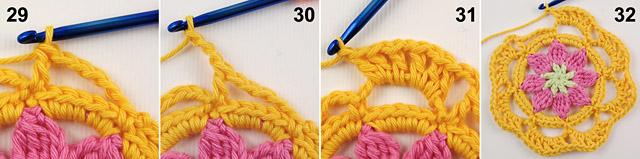 Free crochet baby blanket tutorial by dadas place 8