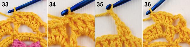Free crochet baby blanket tutorial by dadas place 9