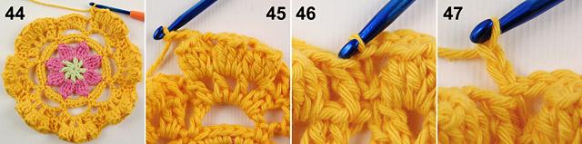 Free crochet baby blanket pattern by Dadas place 2