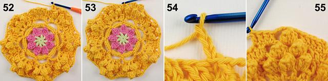 Dadas place free crochet blanket pattern 2