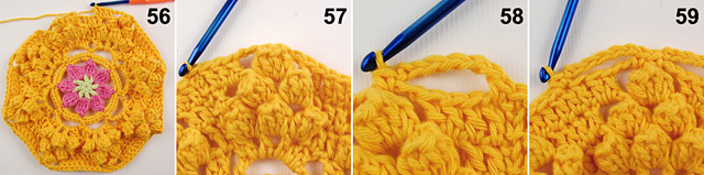 Dadas place free crochet blanket pattern 3