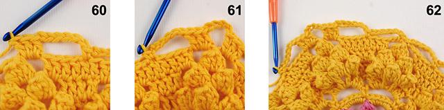 Dadas place free crochet blanket pattern 4