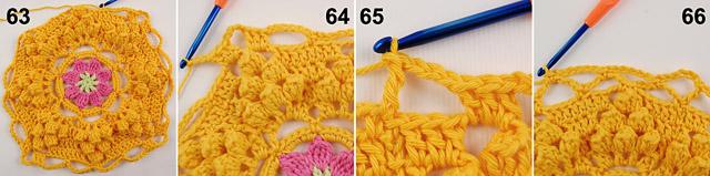 Dadas place free crochet blanket pattern 5