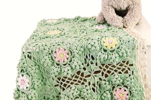 Free Crochet Pattern: How to be a wildflower blanket (part 3)