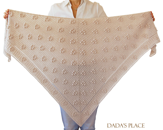 crochet pattern - weldy shawl by dadas place