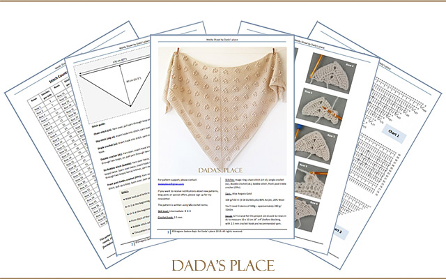 Weldy Shawl pattern by dadas place
