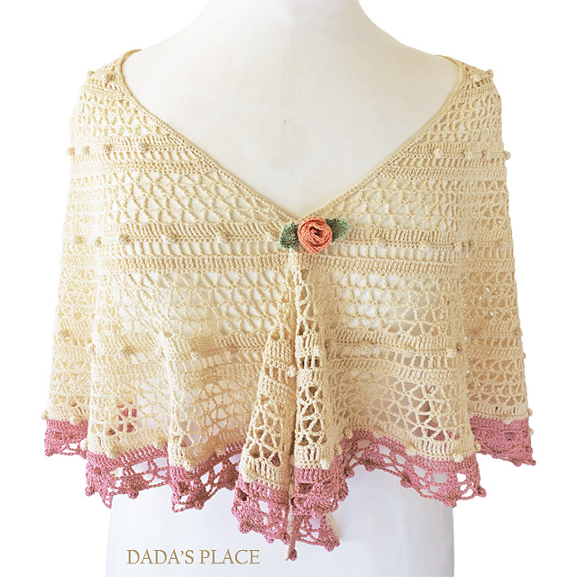 Lelia Shawl crochet pattern by dadas place 5