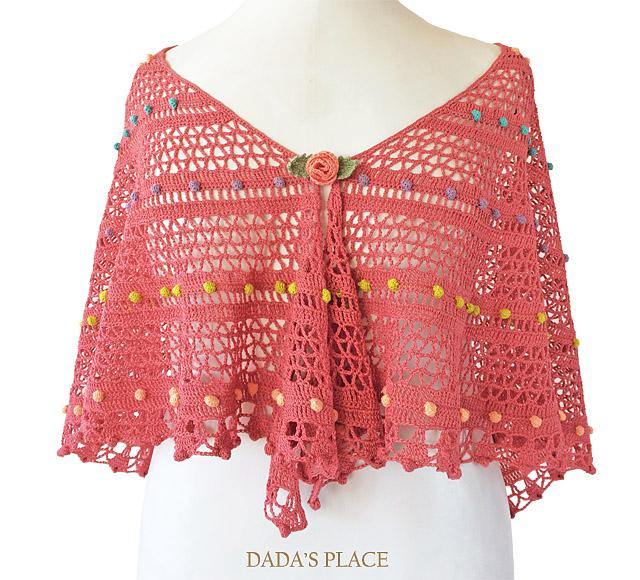 Lelia Shawl crochet pattern by dadas place 2
