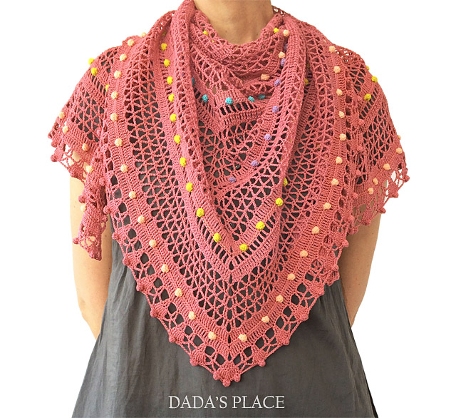 Lelia shawl crochet pattern by dadas place 4