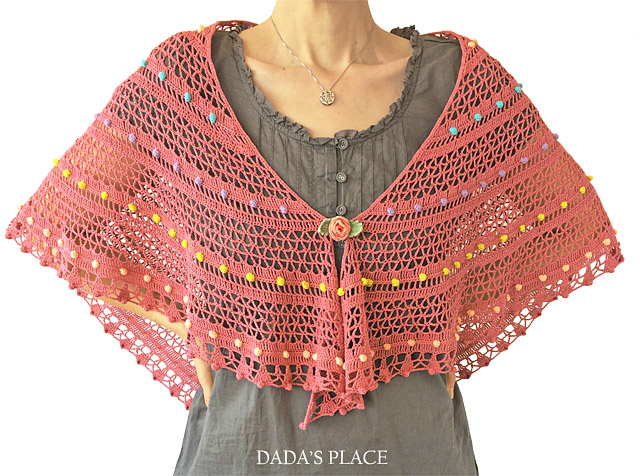 Lelia shawl crochet pattern by dadas place 7