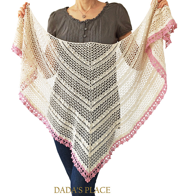 Lelia shawl crochet pattern by dadas place 3