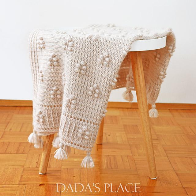 Into the woods crochet blanket pattern 6