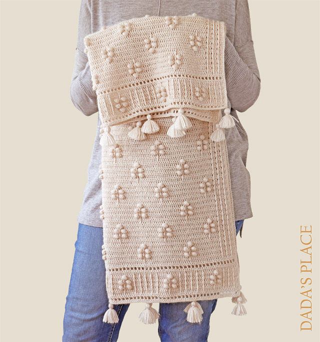 Crochet pattern Into the woods blanket by dadas place