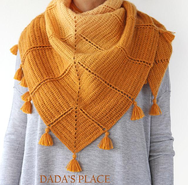 Al Amal crochet shawl pattern by dadas place 4
