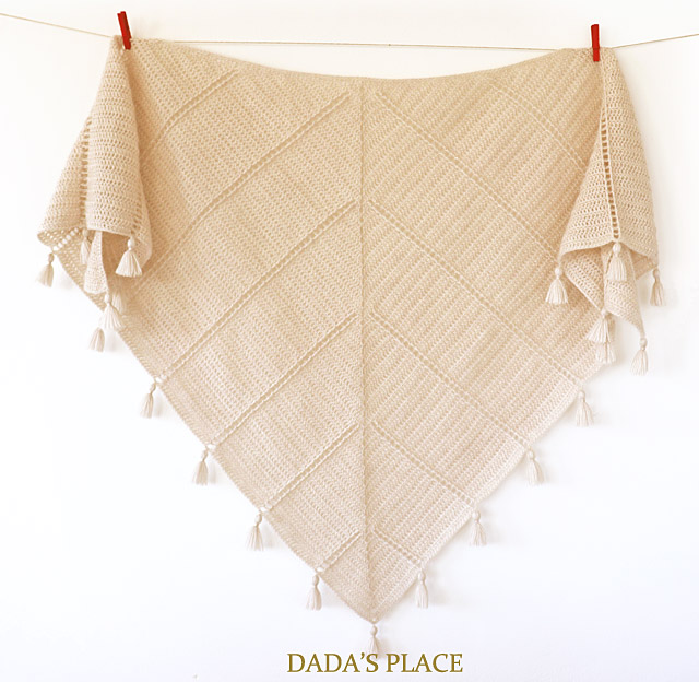 Al Amal crochet shawl pattern by dadas place 7