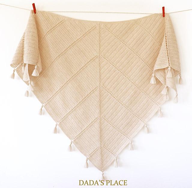 Al Amal crochet shawl pattern by dadas place 7