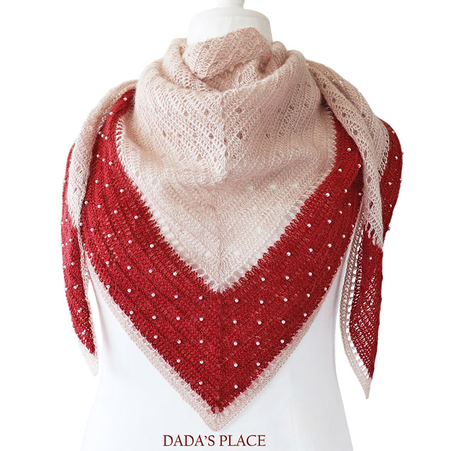 Crochet Shawl Pattern Delicate Shawl by Dadas place